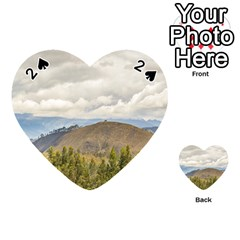 Ecuadorian Landscape At Chimborazo Province Playing Cards 54 (heart)  by dflcprints