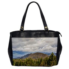 Ecuadorian Landscape At Chimborazo Province Office Handbags by dflcprints