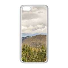Ecuadorian Landscape At Chimborazo Province Apple Iphone 5c Seamless Case (white) by dflcprints