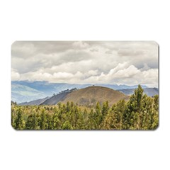 Ecuadorian Landscape At Chimborazo Province Magnet (rectangular) by dflcprints
