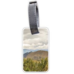 Ecuadorian Landscape At Chimborazo Province Luggage Tags (one Side)  by dflcprints