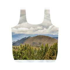 Ecuadorian Landscape At Chimborazo Province Full Print Recycle Bags (m)  by dflcprints