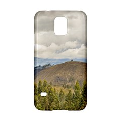 Ecuadorian Landscape At Chimborazo Province Samsung Galaxy S5 Hardshell Case  by dflcprints
