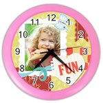 kids - Color Wall Clock