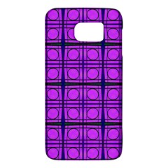 Bright Pink Mod Circles Galaxy S6 by BrightVibesDesign