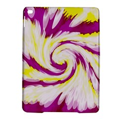 Tie Dye Pink Yellow Abstract Swirl Ipad Air 2 Hardshell Cases by BrightVibesDesign