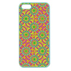 Modern Colorful Geometric Apple Seamless Iphone 5 Case (color) by dflcprints