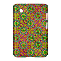 Modern Colorful Geometric Samsung Galaxy Tab 2 (7 ) P3100 Hardshell Case  by dflcprints