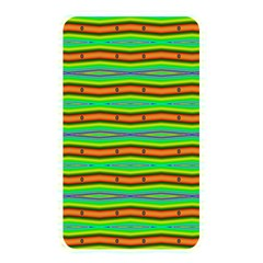 Bright Green Orange Lines Stripes Memory Card Reader by BrightVibesDesign