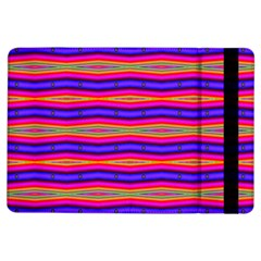 Bright Pink Purple Lines Stripes Ipad Air Flip by BrightVibesDesign