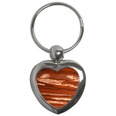 Red Earth Natural Key Chains (heart)  by UniqueCre8ion