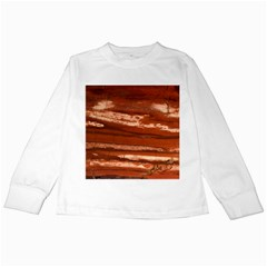 Red Earth Natural Kids Long Sleeve T Shirts by UniqueCre8ion