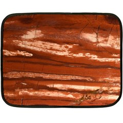 Red Earth Natural Fleece Blanket (mini) by UniqueCre8ion