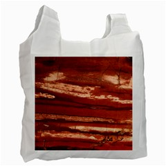 Red Earth Natural Recycle Bag (one Side) by UniqueCre8ion