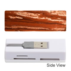 Red Earth Natural Memory Card Reader (stick)  by UniqueCre8ion