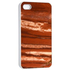Red Earth Natural Apple Iphone 4/4s Seamless Case (white) by UniqueCre8ion