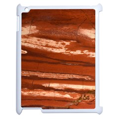 Red Earth Natural Apple Ipad 2 Case (white) by UniqueCre8ion