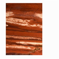 Red Earth Natural Large Garden Flag (two Sides) by UniqueCre8ion