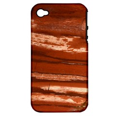 Red Earth Natural Apple Iphone 4/4s Hardshell Case (pc+silicone) by UniqueCre8ion