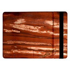 Red Earth Natural Samsung Galaxy Tab Pro 12 2  Flip Case by UniqueCre8ion