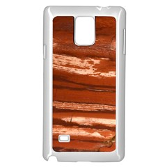 Red Earth Natural Samsung Galaxy Note 4 Case (white) by UniqueCre8ion
