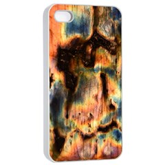 Naturally True Colors  Apple Iphone 4/4s Seamless Case (white) by UniqueCre8ions