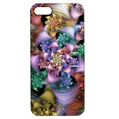Bright Taffy Spiral Apple Iphone 5 Hardshell Case With Stand by WolfepawFractals