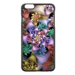 Bright Taffy Spiral Apple iPhone 6 Plus/6S Plus Black Enamel Case by WolfepawFractals