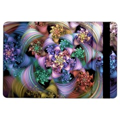 Bright Taffy Spiral Ipad Air 2 Flip by WolfepawFractals