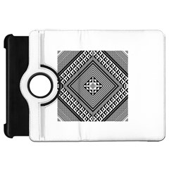 Geometric Pattern Vector Illustration Myxk9m   Kindle Fire Hd Flip 360 Case by dsgbrand