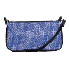 Modern Abstract Geometric Shoulder Clutch Bags by dflcprints
