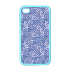 Modern Abstract Geometric Apple Iphone 4 Case (color) by dflcprints