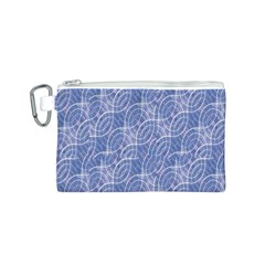Modern Abstract Geometric Canvas Cosmetic Bag (s) by dflcprints