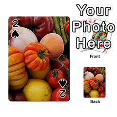 Heirloom Tomatoes Playing Cards 54 Designs  by MichaelMoriartyPhotography