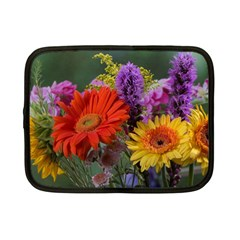 Colorful Flowers Netbook Case (Small)  by MichaelMoriartyPhotography