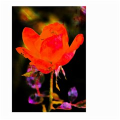 Red Beauty Large Garden Flag (Two Sides) by MichaelMoriartyPhotography