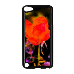 Red Beauty Apple Ipod Touch 5 Case (black) by MichaelMoriartyPhotography