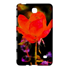 Red Beauty Samsung Galaxy Tab 4 (7 ) Hardshell Case  by MichaelMoriartyPhotography
