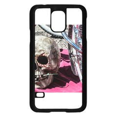 Skull and Bike Samsung Galaxy S5 Case (Black) by MichaelMoriartyPhotography