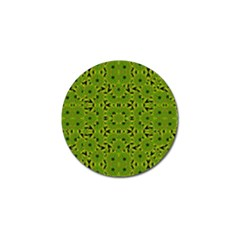 Geometric African Print Golf Ball Marker (10 Pack) by dflcprints