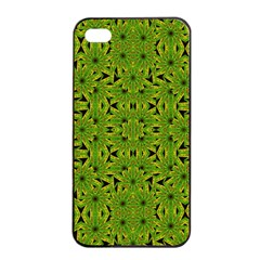 Geometric African Print Apple Iphone 4/4s Seamless Case (black) by dflcprints