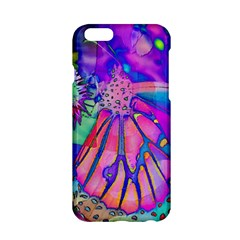 Psychedelic Butterfly Apple Iphone 6/6s Hardshell Case by MichaelMoriartyPhotography