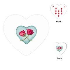 Love Ornate Motif  Playing Cards (heart)  by dflcprints