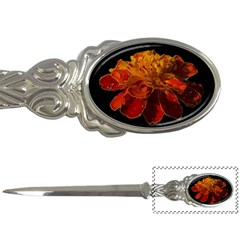Marigold On Black Letter Openers by MichaelMoriartyPhotography