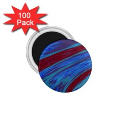 Swish Blue Red Abstract 1 75  Magnets (100 Pack)  by BrightVibesDesign