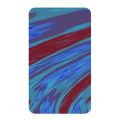 Swish Blue Red Abstract Memory Card Reader by BrightVibesDesign