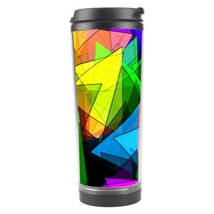 Colorful Triangles                                                                  Travel Tumbler by LalyLauraFLM