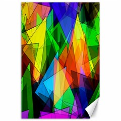 Colorful Triangles                                                                  canvas 24  X 36  by LalyLauraFLM