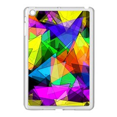 Colorful Triangles                                                                  			apple Ipad Mini Case (white) by LalyLauraFLM