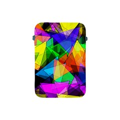 Colorful Triangles                                                                  apple Ipad Mini Protective Soft Case by LalyLauraFLM